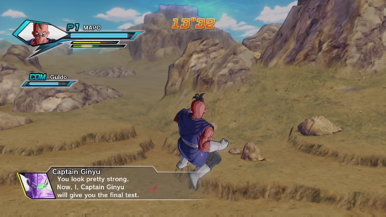 SRC Mapo 0420 playing Dragon Ball XenoVerse