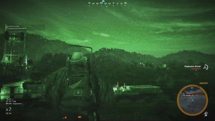 HuddledWinner96 playing Tom Clancy's Ghost Recon Wildlands
